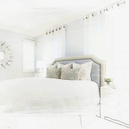 Пошив тюли для спальни