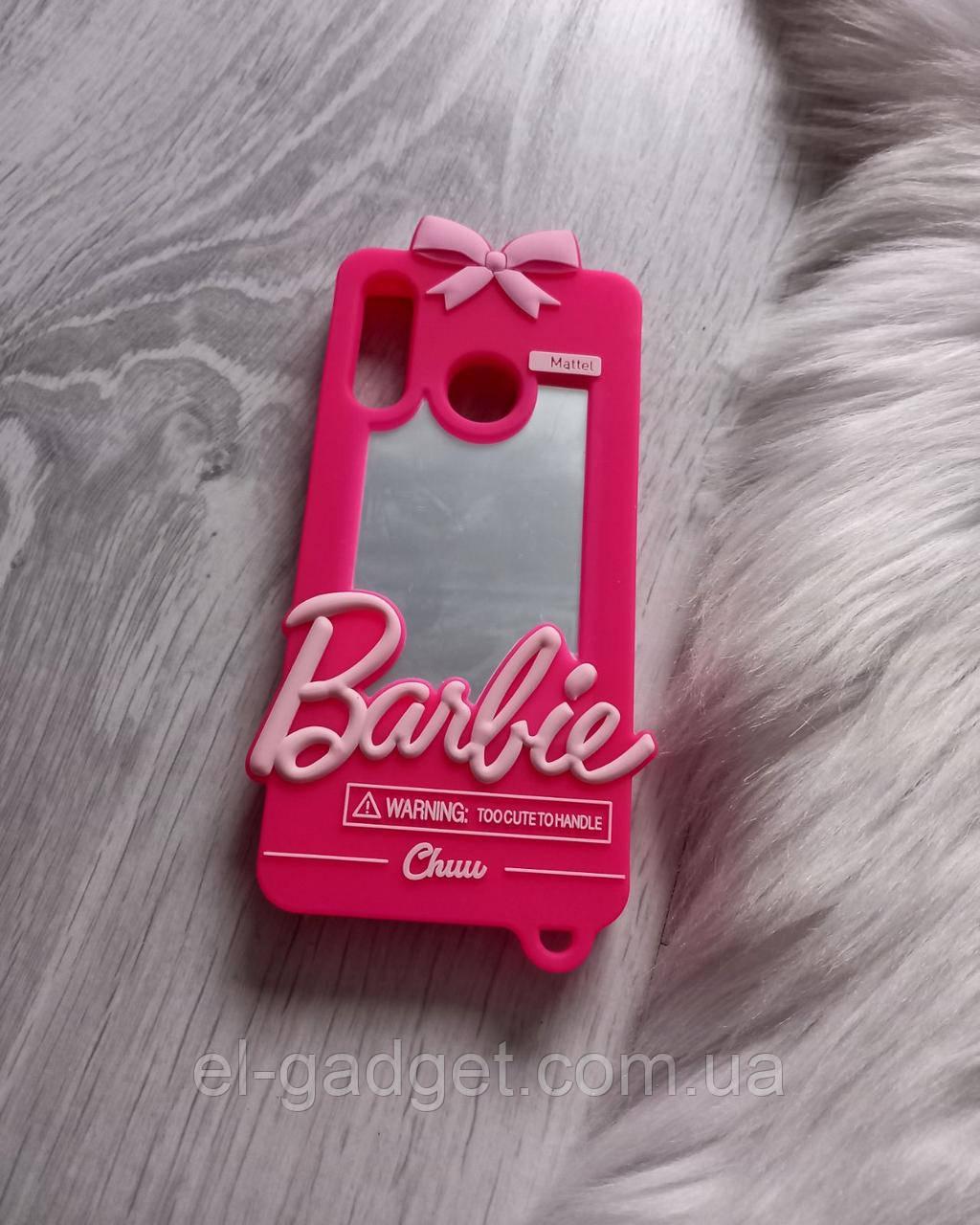 Чехол на Huawei P30 Lite Барби Barbie розовый