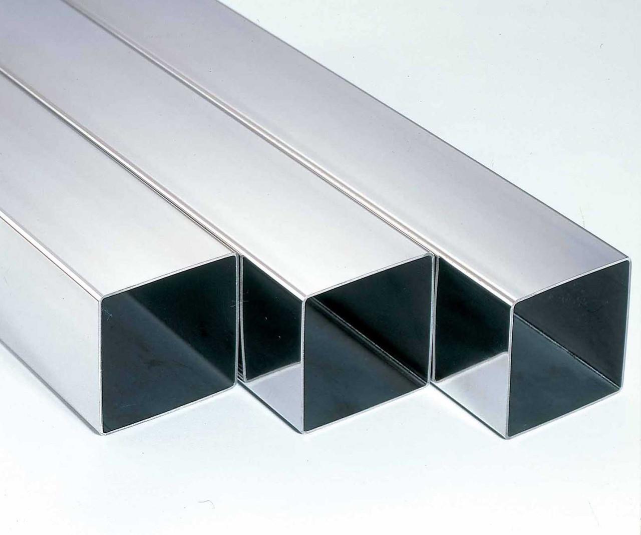Труба алюминиевая профильная АД31  150х50х3,0мм