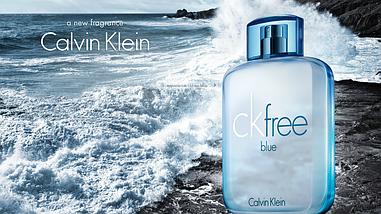 Calvin Klein CK Free Blue туалетная вода 100 ml. (Кельвин Кляйн Фри Блю), фото 3