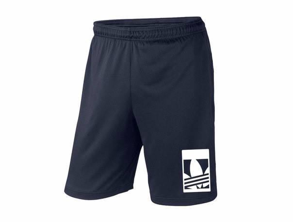 Мужские спортивные шорты Adidas, Адидас, темно-синие (в стиле), фото 2