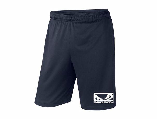Мужские спортивные шорты bad boy, бед бой, темно-синие (в стиле)