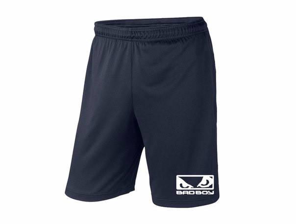 Мужские спортивные шорты bad boy, бед бой, темно-синие (в стиле), фото 2