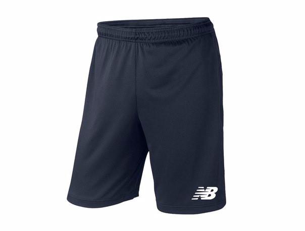 Мужские спортивные шорты New Balance, нью беланс, темно-синие (в стиле)