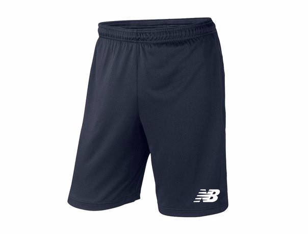 Мужские спортивные шорты New Balance, нью беланс, темно-синие (в стиле), фото 2