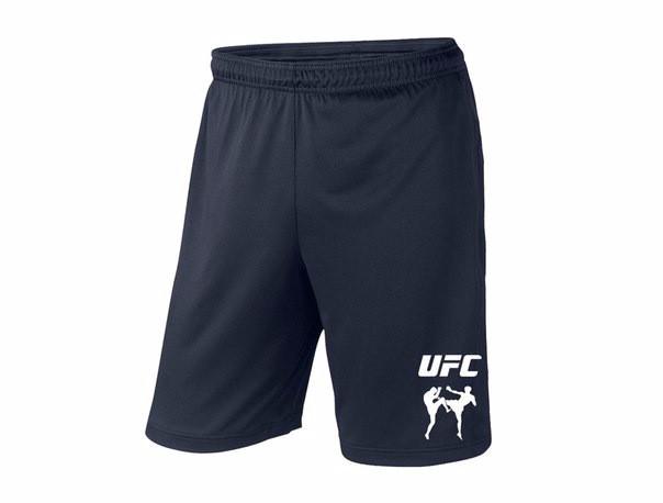 Мужские спортивные шорты UFC, юфс, темно-синие (в стиле)