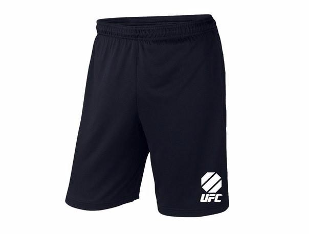Мужские спортивные шорты UFC, юфс, черные (в стиле)