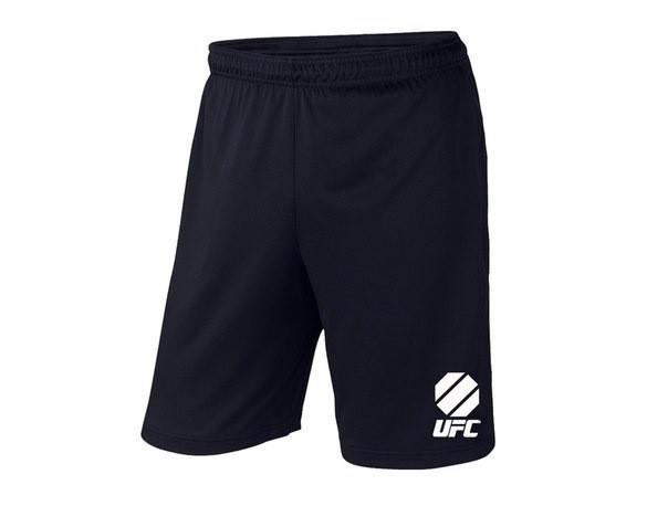 Мужские спортивные шорты UFC, юфс, черные (в стиле), фото 2