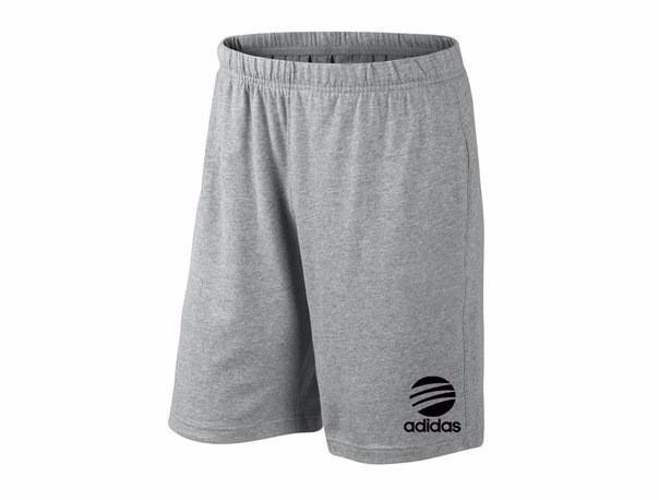 Мужские спортивные шорты Adidas, адидас, серые (в стиле)
