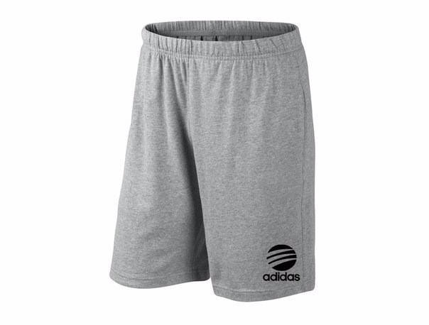 Мужские спортивные шорты Adidas, адидас, серые (в стиле), фото 2