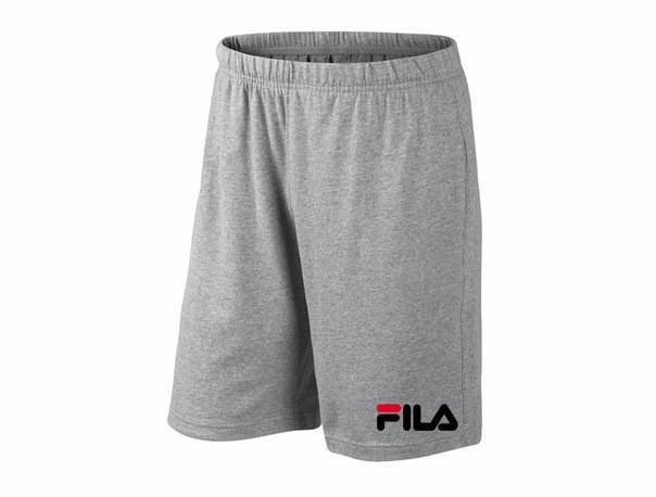 Мужские спортивные шорты Fila, фила, серые (в стиле)