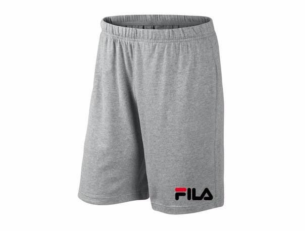 Мужские спортивные шорты Fila, фила, серые (в стиле), фото 2