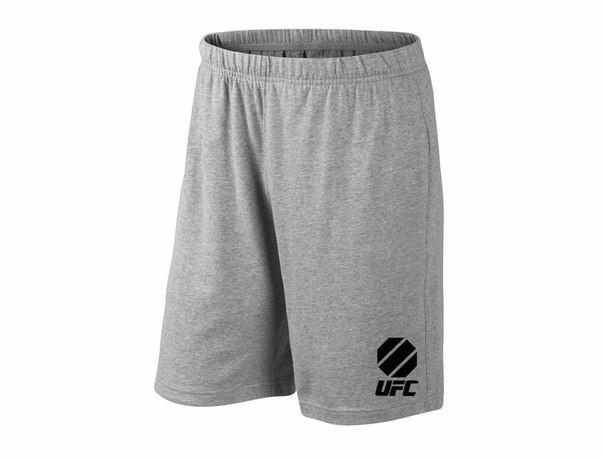 Мужские спортивные шорты UFC, юфс, серые (в стиле)
