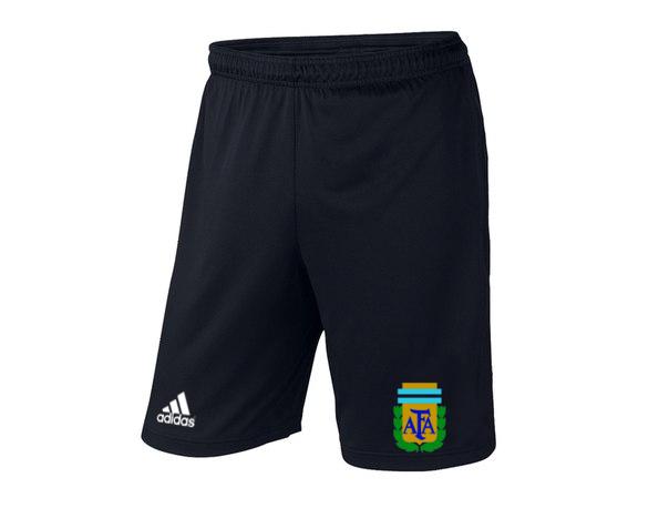 Мужские футбольные шорты Сборной Аргентины, Argentina, черные, фото 2
