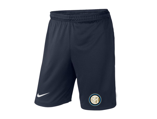 Мужские футбольные шорты Интер, Inter, темно-синие, фото 2