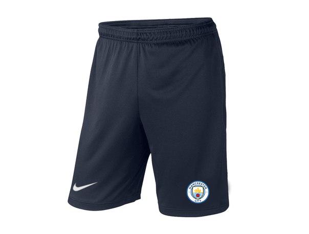 Мужские футбольные шорты Манчестер Сити, Manchester city, темно-синие, фото 2