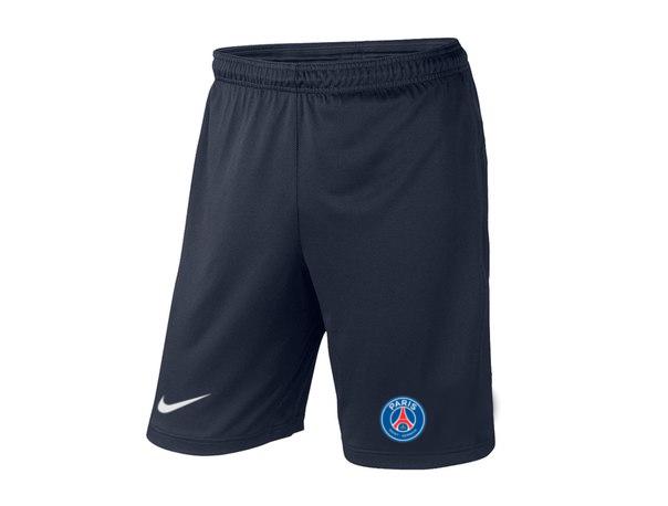 Мужские футбольные шорты ПСЖ, PCG, темно-синие