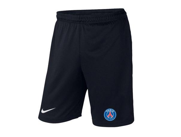 Мужские футбольные шорты ПСЖ, PCG, черные, фото 2