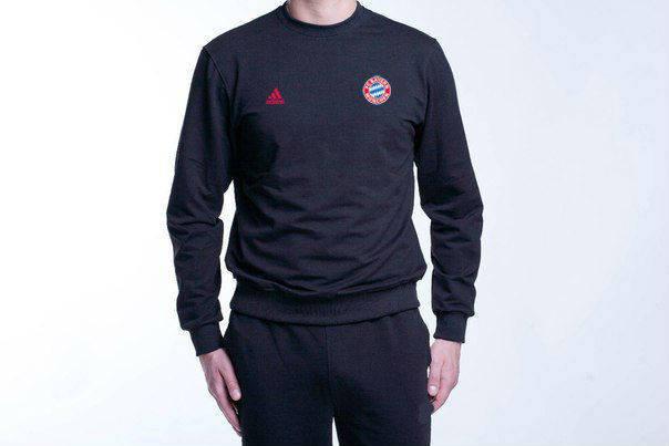 Футбольный костюм Adidas-Bayern, Бавария, Адидас, черный, фото 2