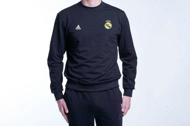 Футбольный костюм Adidas-Real Madrid, Реал Мадрид, Адидас, черный