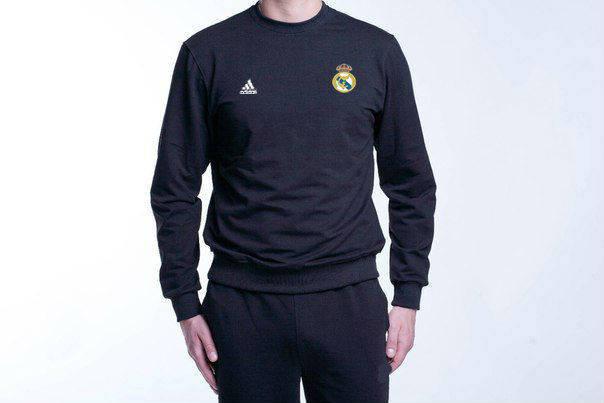 Футбольный костюм Adidas-Real Madrid, Реал Мадрид, Адидас, черный, фото 2