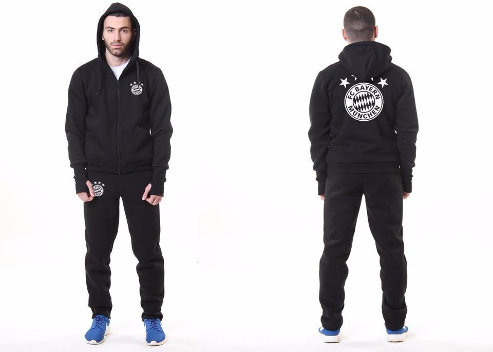 Футбольный костюм Adidas-Bayern, Бавария, Адидас, черный