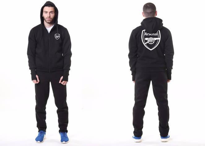 Футбольный костюм Arsenal, Арсенал, Puma, Пума, черный, фото 2