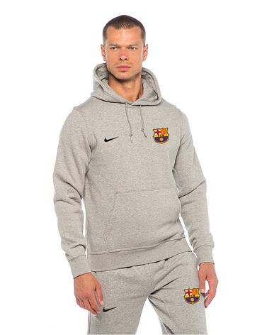 Футбольный костюм Nike-Barselona, Барселона, Найк, серый, фото 2