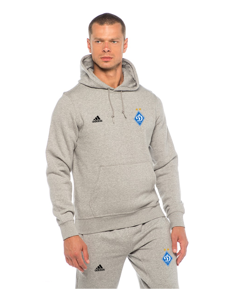 Футбольный костюм Динамо Киев, Адидас, Adidas, серый