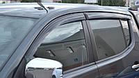 Ветровики Мицубиси Л200 | Дефлекторы окон Mitsubishi L200 IV 2007