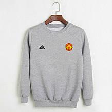 Мужской свитшот Манчестер Юнайтед Адидас, Manchester United,Adidas