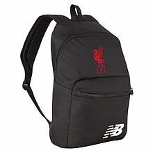 Рюкзак Ливерпуль, Liverpool, New Balance, Нью Беленс, черный