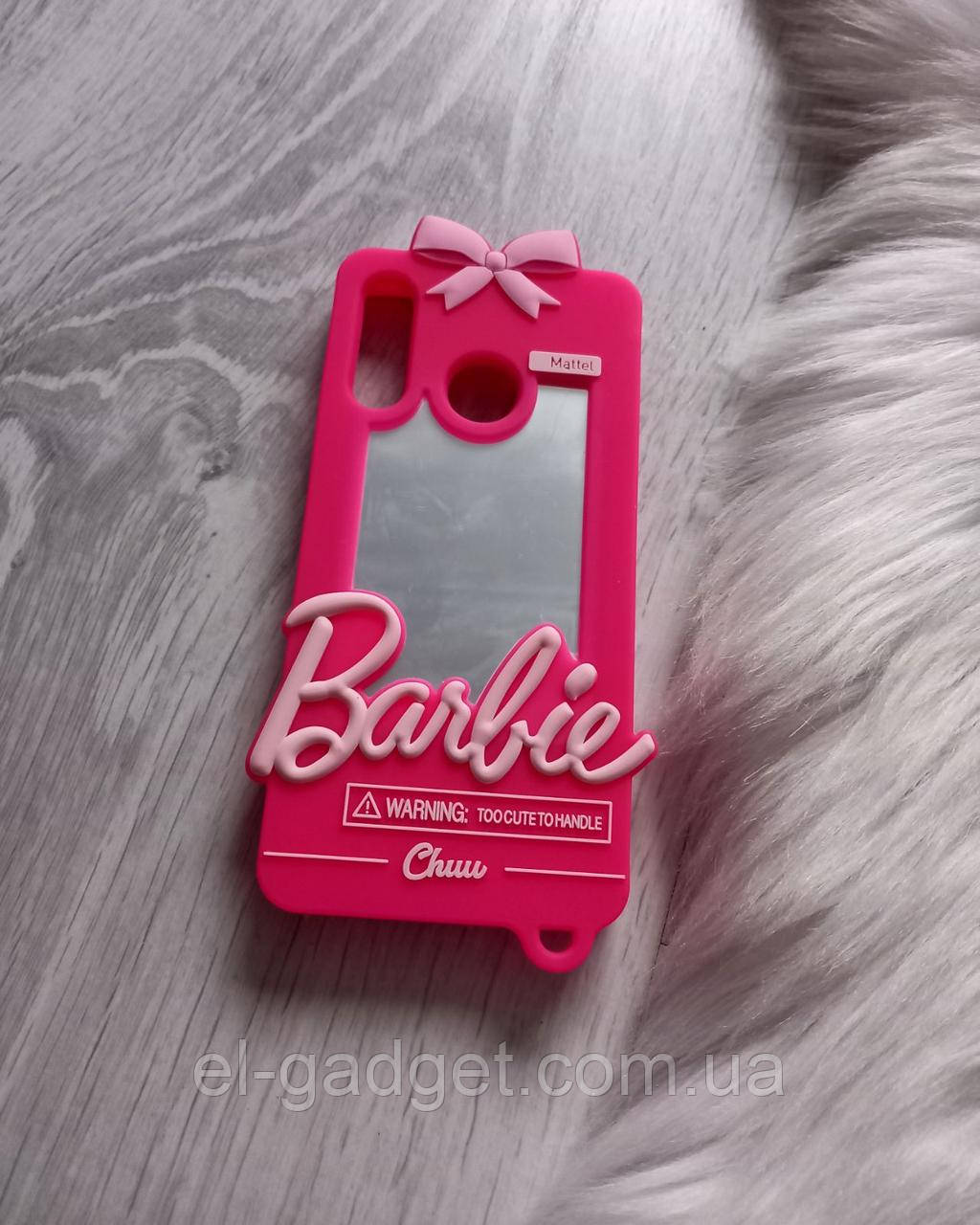 Чехол на Huawei Nova 4e Барби Barbie розовый