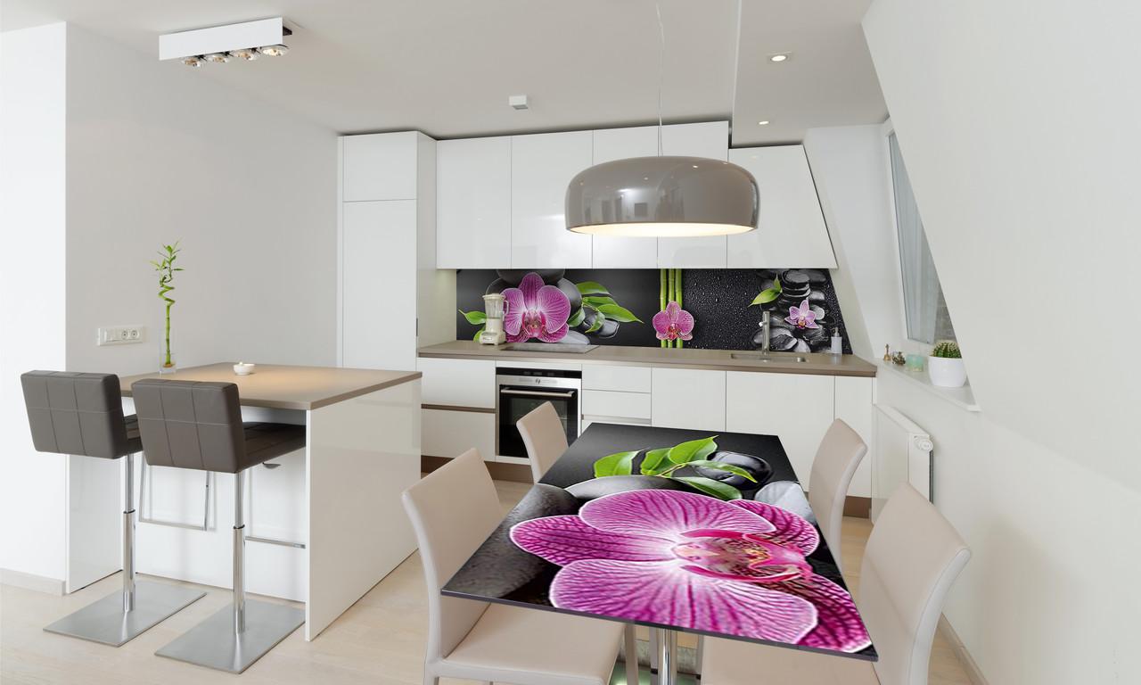 Наклейка 3Д виниловая на стол Zatarga «самоклеющийся Гармония» 600х1200 мм для домов, квартир, столов,
