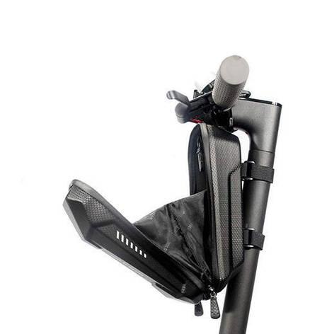Органайзер CarryTire на рулевую стойку электросамоката Xiaomi (Mijia M365 / Pro / Segway ES1 / ES2 / ES3) 2 л, фото 2