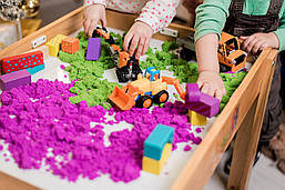 Детский световой стол-песочница Noofik Ольха Базовый (stb003ol), фото 3