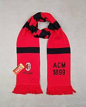 Мужской футбольный шарф ФК Милан, Milan, красный