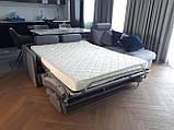 Раскладной угловой диван TOGO с ортопедическим матрасом шириной 160 см фабрика ALBERTA (Италия), фото 4