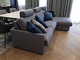 Раскладной угловой диван TOGO с ортопедическим матрасом шириной 160 см фабрика ALBERTA (Италия), фото 3