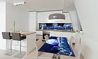 Наклейка 3Д виниловая на стол Zatarga «Планеты» 650х1200 мм для домов, квартир, столов, кофейн, кафе, фото 1