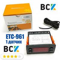 Контроллер ETC 961 1 датчик Elitech блок управления аналог eliwell 961 для холодильного оборудования и камер