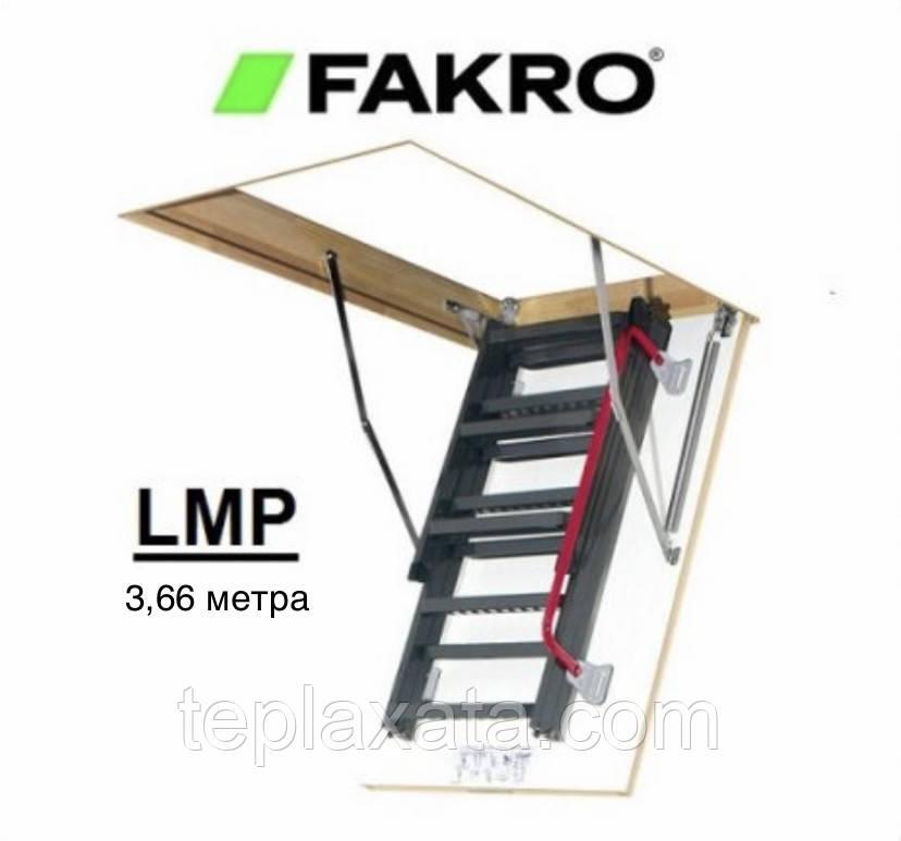 ОПТ - FAKRO LMP (60*144) Драбина металева 3,66 метра