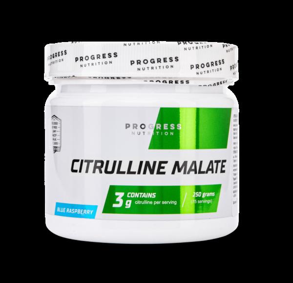 Цитрулін Progress Nutrition Citrulline malate 250g. БЛАКИТНА МАЛИНА