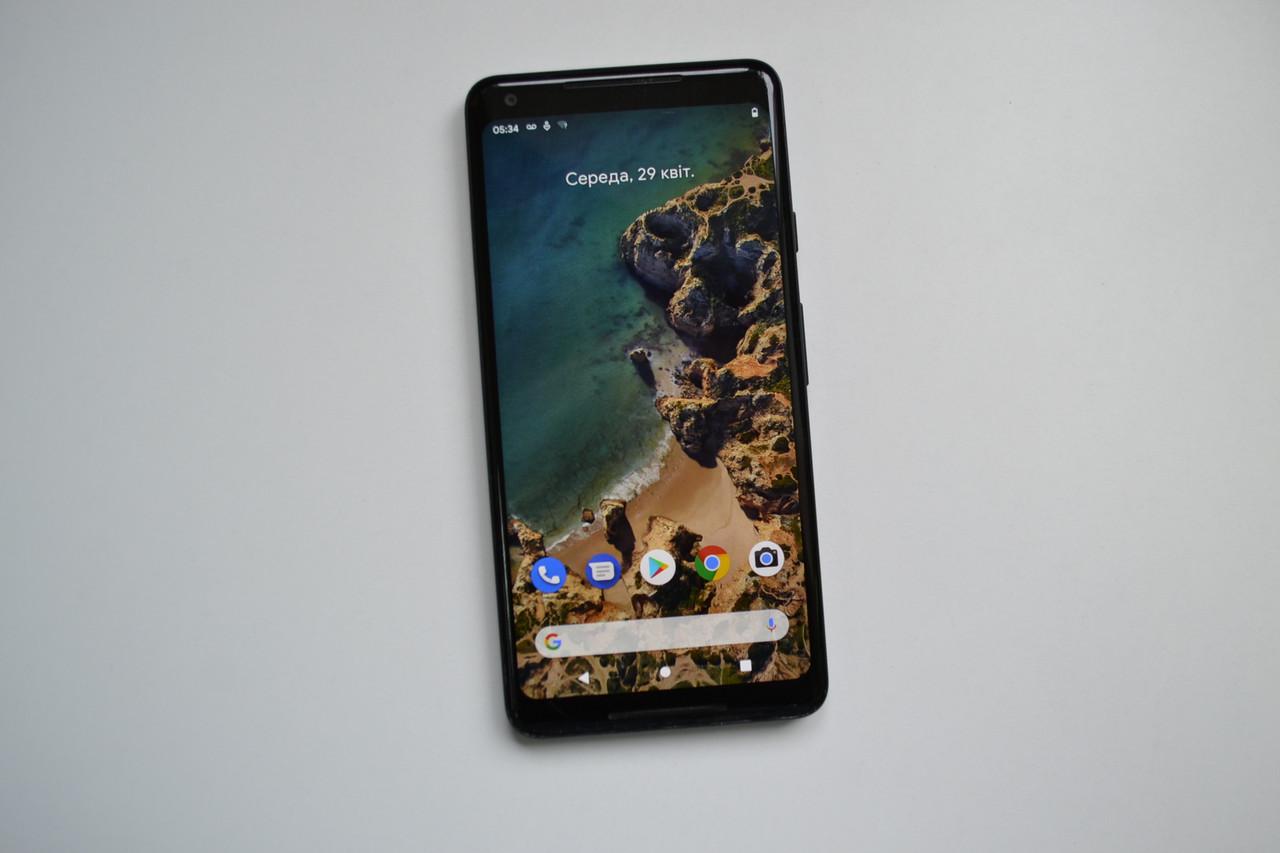 Смартфон Google Pixel 2 XL 128Gb Just Black Оригінал!