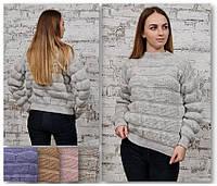 Женский теплый свитер, фото 1