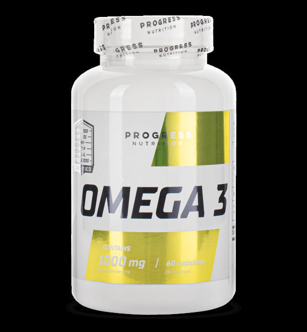 Риб'ячий жир Progress Nutrition Omega 3 60caps.