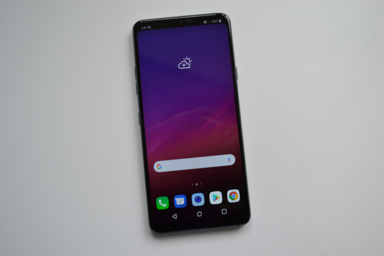 LG G7 ThinQ G710PM New Platinum Gray - 4Gb RAM, 64Gb Оригинал!