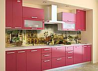 Скинали на кухню Zatarga «Почтовая Марка» 600х2500 мм виниловая 3Д наклейка кухонный фартук самоклеящаяся, фото 1