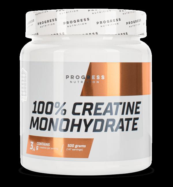 Креатин Progress Nutrition Creatine Monohydrate 500g.
