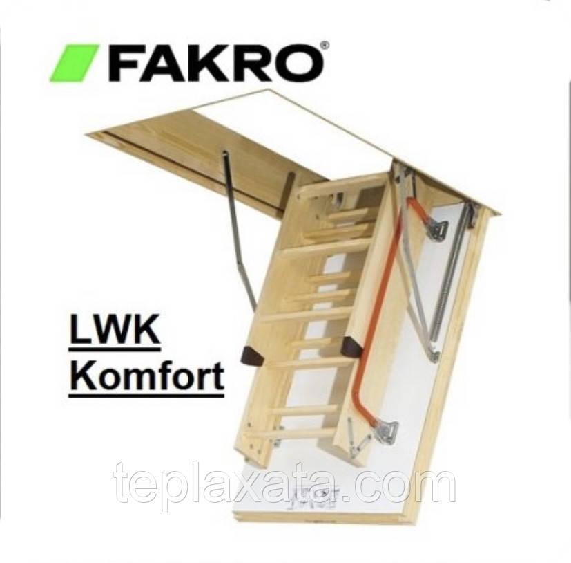 ОПТ - FAKRO LWK Plus (70*120) Лестница раскладная 2,8 метра